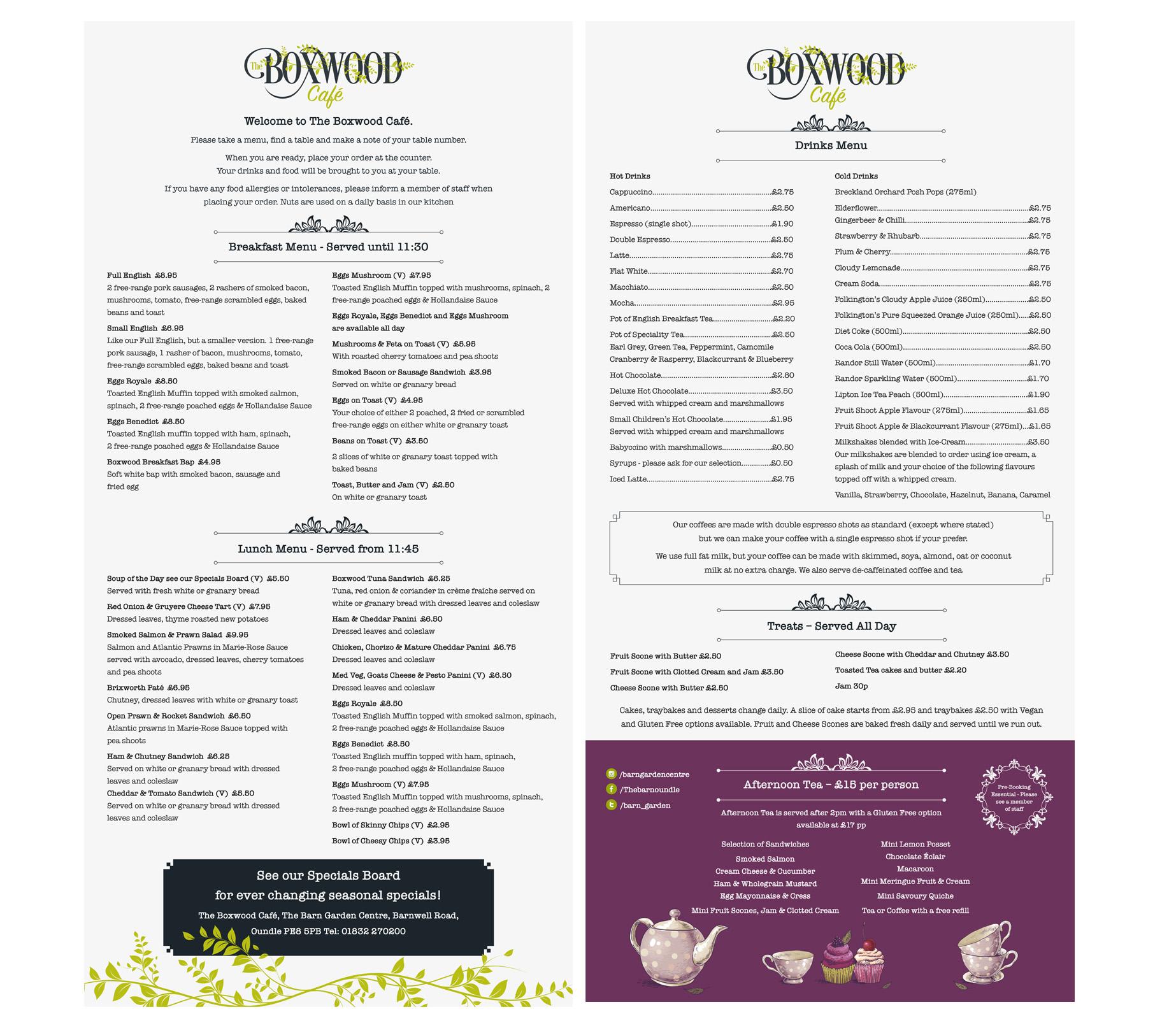The Boxwood Cafe